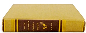 Helen Corbitt's Cookbook, 8th pr., 1958, Signed